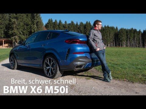2020 BMW X6 M50i (G06) Test / Breit, schwer und schnell - Autophorie