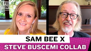 Sam Bee and Steve Buscemi Do Crowd Work To Prep For A Live Audience