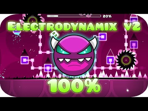 Geometry Dash | (Medium Demon) Electrodynamix v2 by Neptune