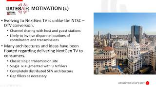 Cloud Delivery of NextGen TV Services to Transmission Sites using Secure Reliable Transport (SRT)