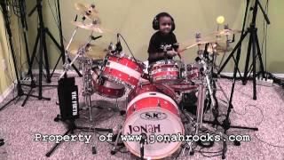 Dio - Metal Will Never Die, 6 Year Old Drummer, Jonah Rocks