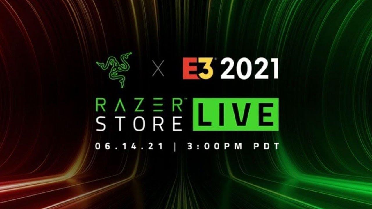 Razer Keynote presentation at E3 2021