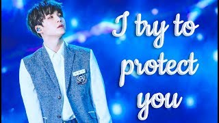 """Imagine BTS Suga as your boyfriend - """"I try to protect you"""""""