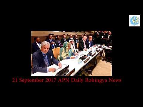 21 September 2017 APN Daily Rohingya News