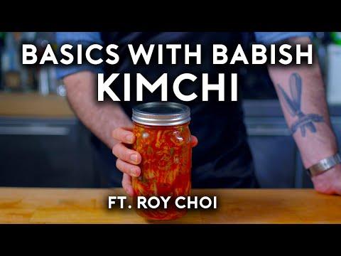 Kimchi (ft. Roy Choi) | Basics with Babish