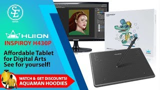 huion inspiroy h950p unboxing - TH-Clip