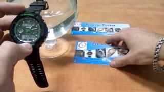 Мужские часы Skmei 0931 S-Shock Orange - видео 1