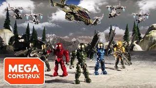Assault on Squad 45: Episodes 1 - 4 | Halo | Mega Construx - dooclip.me