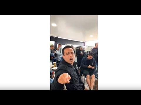 Confira os bastidores do churrasco do Corinthians no CT Joaquim Grava