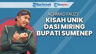 Kisah Unik Dasi Miring Bupati Sumenep Achmad Fauzi
