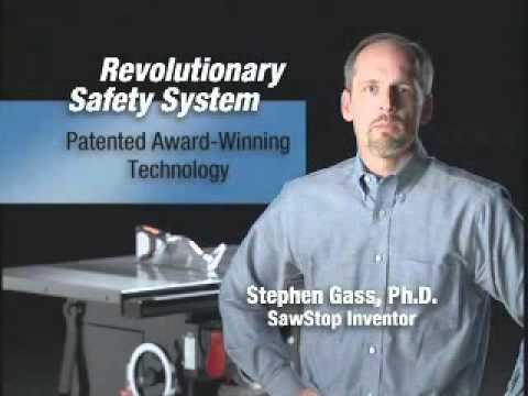 SawStop CNS Table Saw: Why SawStop?