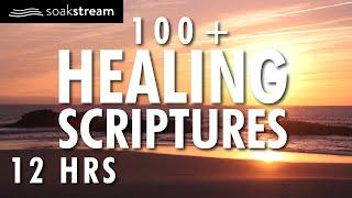 100+ Healing Scriptures With Soaking Music | Audio Bible | Instrumental Worship Music | 12 HRS 2020