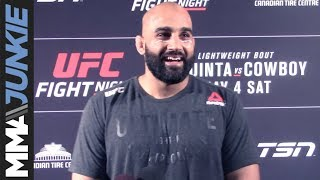 UFC Ottawa: Arjan Bhullar Post Fight Interview