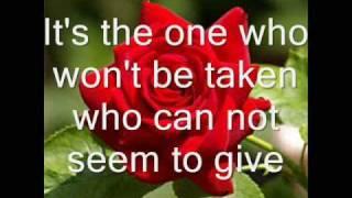Leann Rimes-The Rose with lyrics