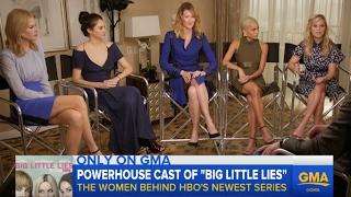 Big Little Lies Interview with Reese Witherspoon, Nicole Kidman, Shailene Woodley, Zoe K.& Laura D.