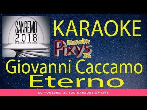 , title : 'Giovanni Caccamo - Eterno Karaoke Sanremo 2018'