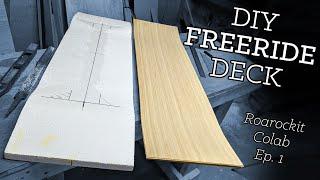 Prototyping a Freeride Longboard Deck - #roarockit Collab ep. 1