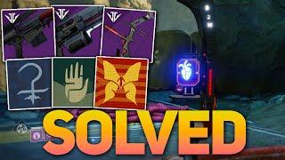 Unlock All 3 Black Armory Family Emblems & Complete Beacon Puzzle! (Destiny 2)