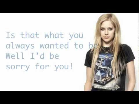 Avril Lavigne - Take It  - Lyrics HD