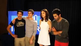 Interview du cast