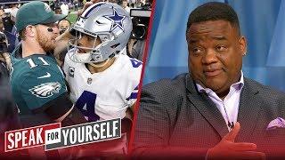 Dak's market value isn't like Wentz, Jones should call his contract bluff   NFL   SPEAK FOR YOURSELF