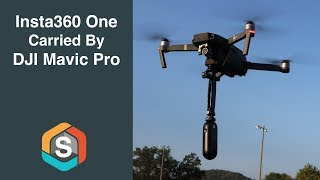Insta360 One Carried by the DJI Mavic Pro