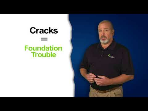 Cracks can be in inside drywall or outside masonry, vertical or horizontal. 