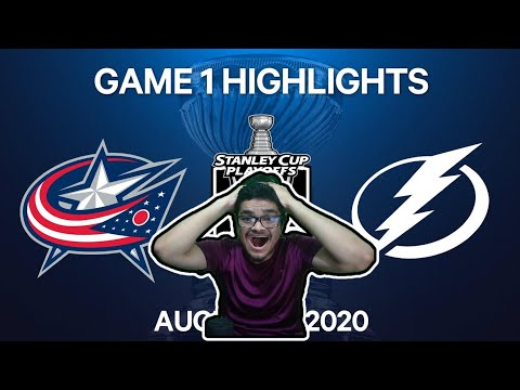 Soccer Fan reacts to Blue Jackets vs Tampa Bay Lightning NHL Highlights Reaction | NHL Reaction
