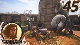 CONAN EXILES (NEW SEASON) - EP45 - Working On The Market! (Gameplay Video)
