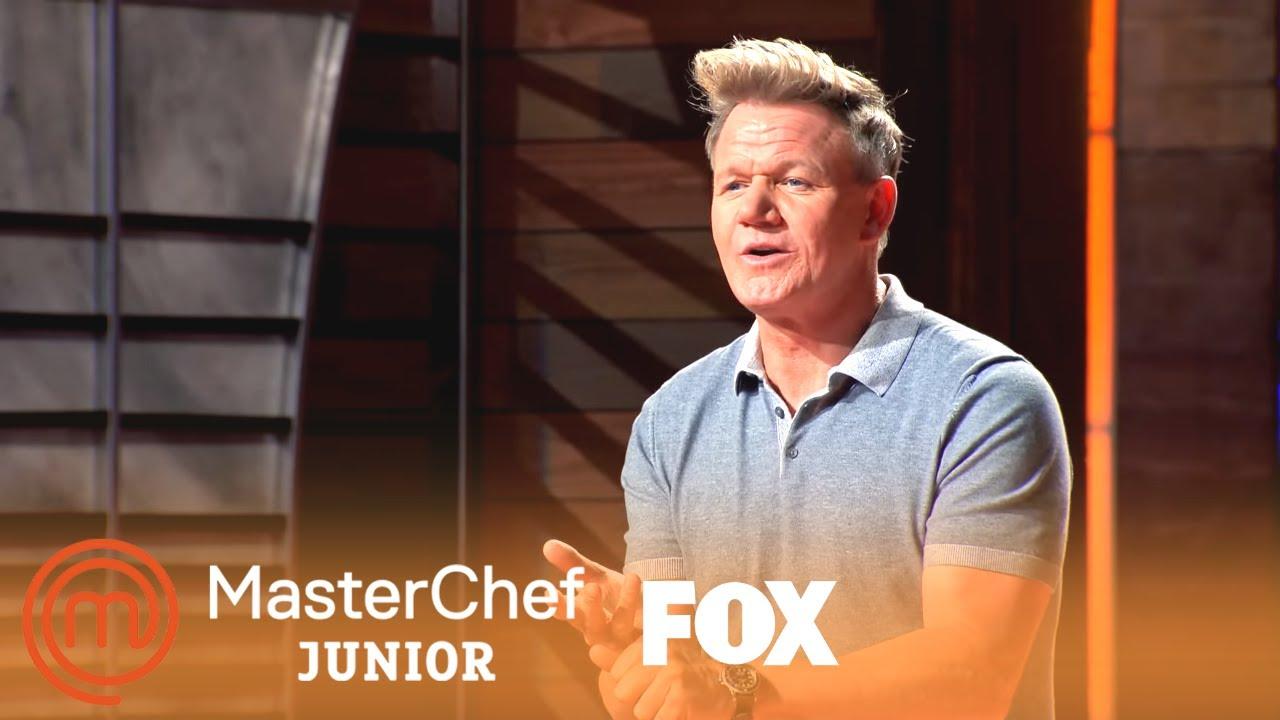 Gordon Introduces Special Guests To The Kitchen | Season 7 Ep. 8 | MASTERCHEF JUNIOR
