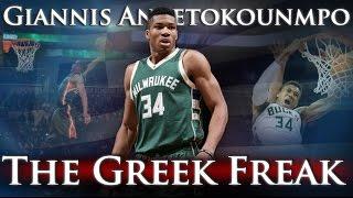 Giannis Antetokounmpo – The Greek Freak