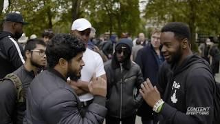 9 115 3344 Universal Laws Hamza T african spiritualist Speakers Corner Video