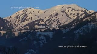 越後駒ヶ岳の動画素材, 4K写真素材