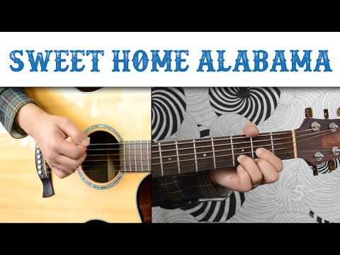 Sweet Home Alabama - Lynyrd Skynyrd | Easy Guitar Tutorial, Basic Strumming
