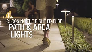 How To Choose Path Lights  - Landscape Lighting Tips From A Pro