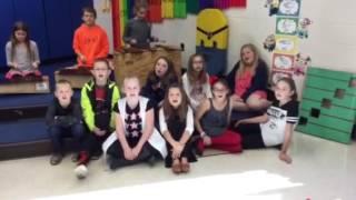 Nelson's class Singing Toemba
