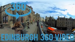 Edinburgh Royal Mile 360 Video (Ricoh Theta S)