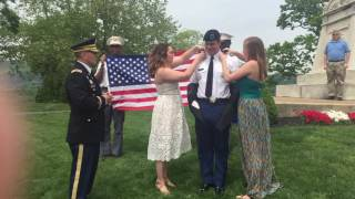 Matthew Fox Commissioning Ceremony - West Point 2016