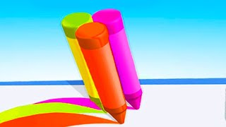 Pencil Rush 3D - Level 69-82 Gameplay Android, iOS