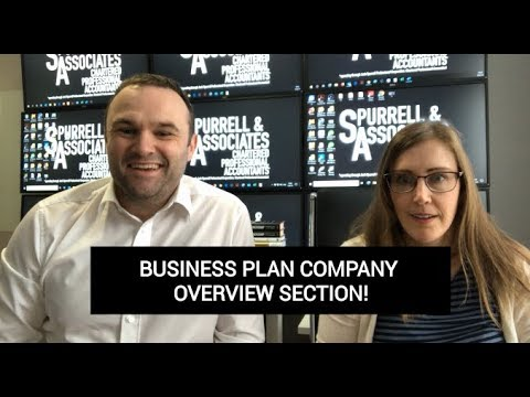 Edmonton Business Coach | Business Plan Company Overview