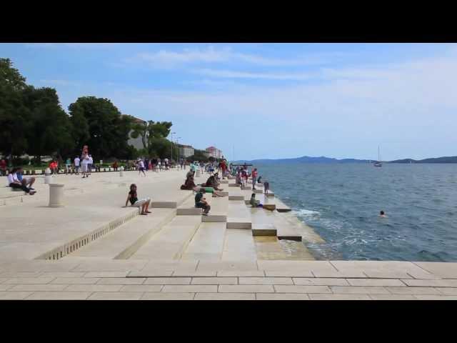 Órgão do Mar, na Croácia