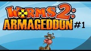 Worms 2: Armageddon - Part 1 - Friends Video Game Tournament