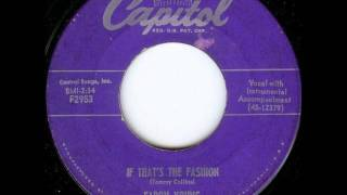 Faron Young - If That's The Fashion