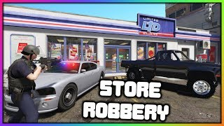 GTA 5 Roleplay - Store Robbery With Snipers | RedlineRP