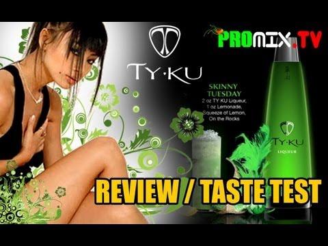 TY KU SAKE REVIEW (World's Only Illuminating Bottle)- PROMIXTV