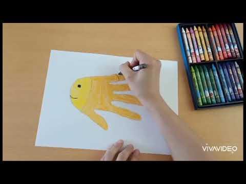 Hướng dẫn tạo hình con vật từ bàn tay