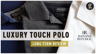 Banana Republic Luxury Touch Polo Review (and How It Fits)