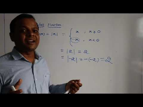 Modulus Functions