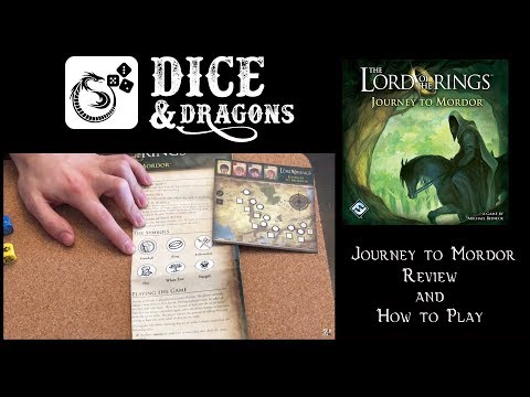 Dice and Dragons - Journey to Mordor Review and How to Play