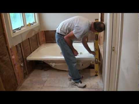 Installing a Whirlpool Jet Tub (Part 1)